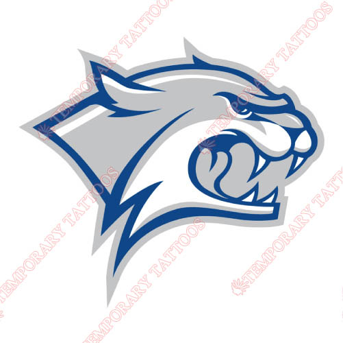 New Hampshire Wildcats Customize Temporary Tattoos Stickers NO.5405